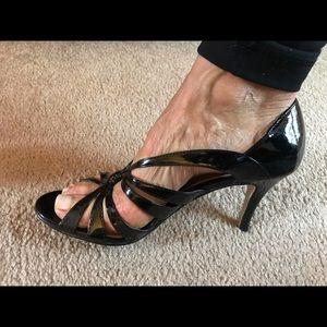 Shoes - New York Transit beautiful black sexy strapy shoe